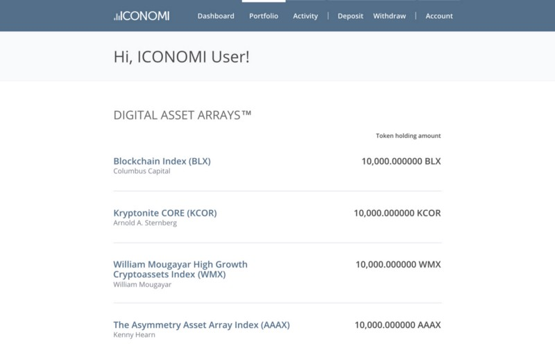 ICONOMI welcomes newest digital asset managers including William Mougayar