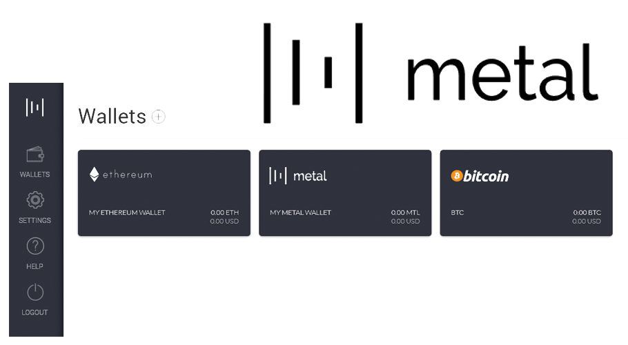 METAL releases wallet vault app