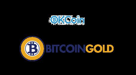 OKCointoopen Bitcoin Gold chain split token trading