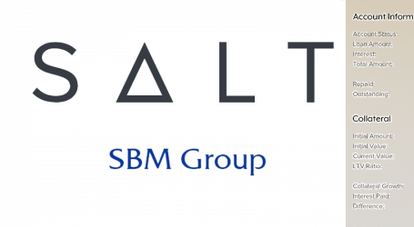 SBM Group and SALT test partnership to collateralize blockchain assets