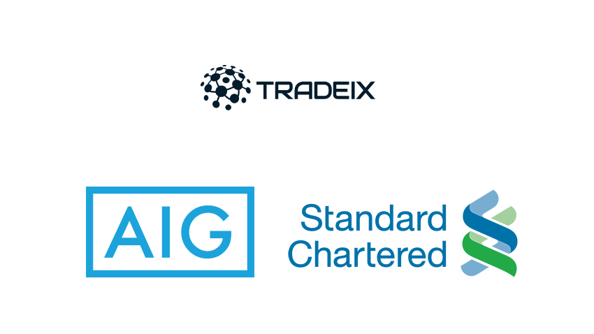 AIG and TradeIX complete blockchain trade finance transaction with Standard Chartered