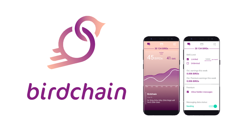 Birdchain: Instant messaging app that where users earn cryptocurrency