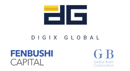 Digix closes $1.25 million USD investment with Global Brain and Fenbushi Capital