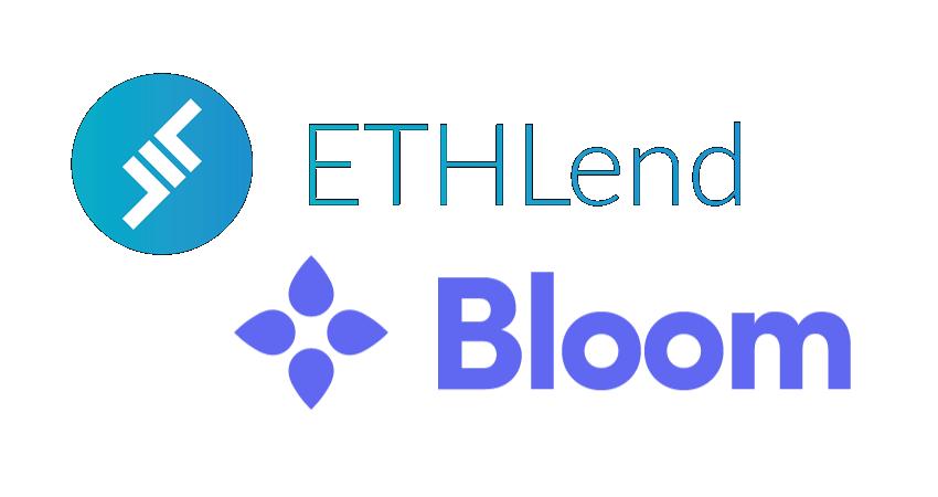 ETHLend to utilize Bloom protocol credit scores for blockchain lending app