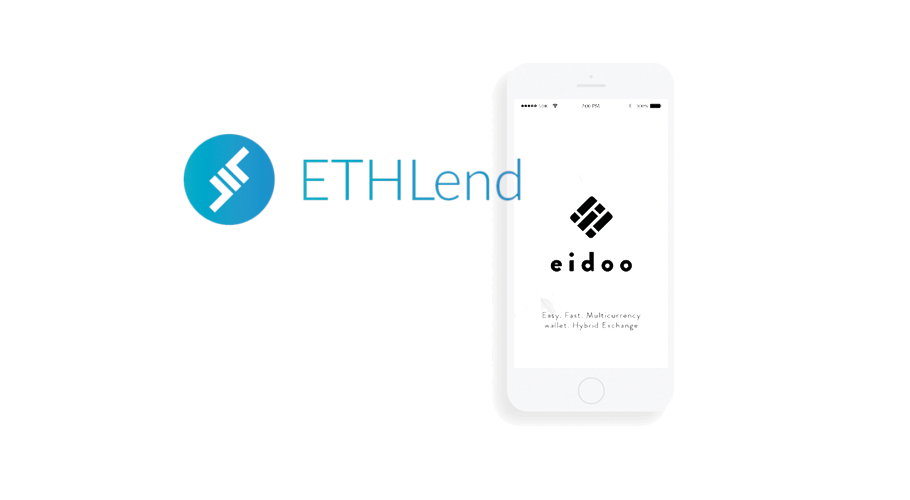ETHLend to be first token sale to use Eidoo ICO Engine