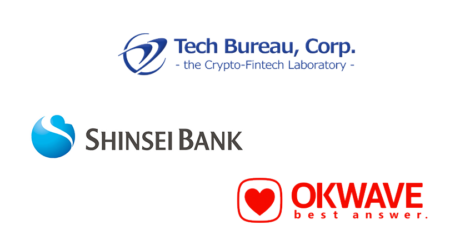 Japan crypto firm Tech Bureau gets investment from Shinsei Bank, OKWAVE