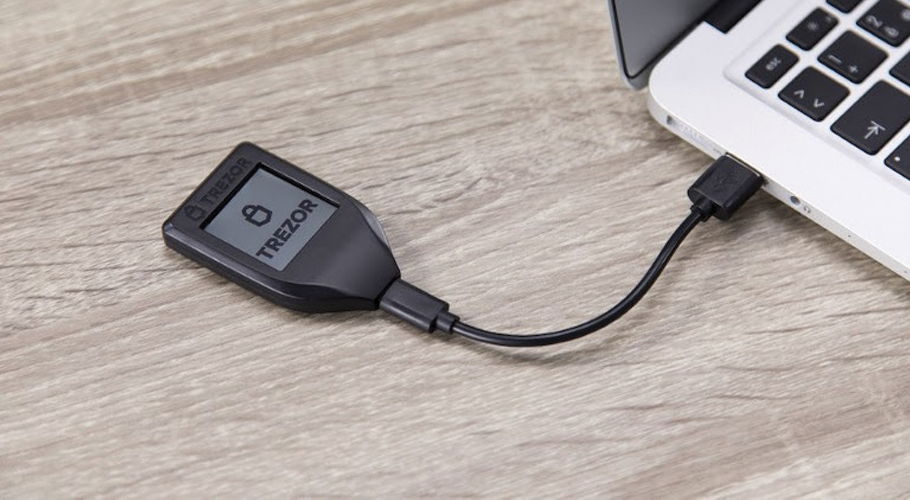 New TREZOR Model T on presale Bitcoin hardware wallet