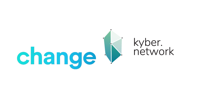 Blockchain wallet Change rebrands and collabs with Kyber Network