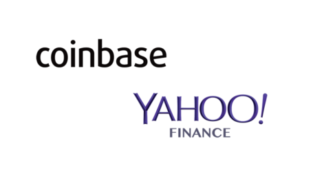 "Coinbase integrates account ""View Balance"" with Yahoo Finance"