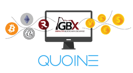 Gibraltar Blockchain Exchange and QUOINE announce liquidity partnership