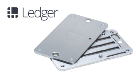 Ledger introduces Cryptosteel for durable backup of offline crypto storage