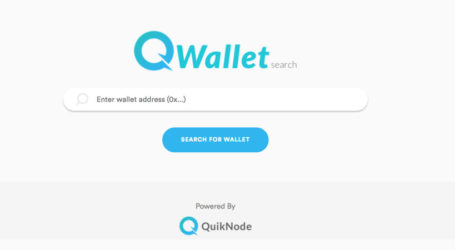QuikNode launches QWallet to view ETH wallet holdings