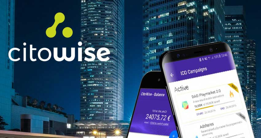 Citowise pushing the envelope of Ethereum blockchain wallet tech