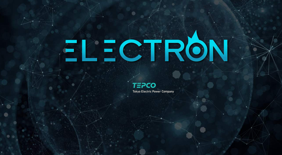 TEPCO looks to the transformative potential of blockchain by investing in Electron, a UK energy technology company