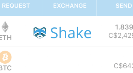 Shakepay announces shift to p2p crypto mobile wallet app