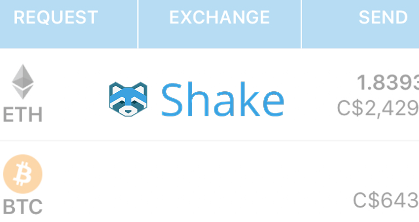 Shakepay announces shift to p2p crypto mobile wallet app - CryptoNinjas