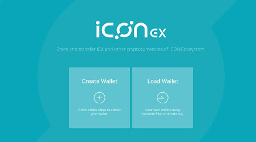 ICONex The Official Wallet Service Of ICON Blockchain Network Is Now Open A Where Users Can Manage Their ICX But Also Other Various