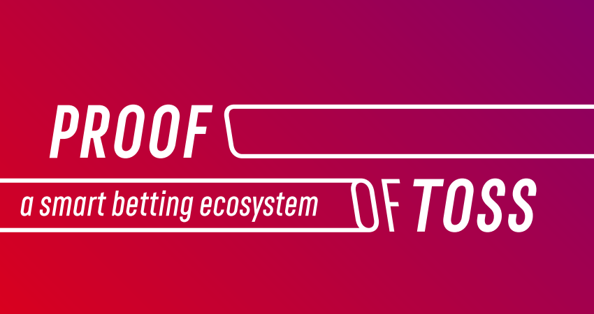 PROOF OF TOSS holding token sale for modernizing betting industry