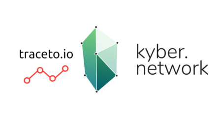 KYC and compliance protocol traceto.io integrating with Kyber Network