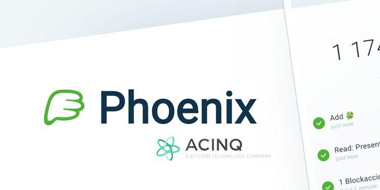ACINQ introduces Phoenix, a native Lightning-enabled Bitcoin wallet