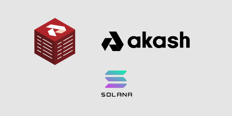 Decentralized cloud Akash interoperating with Solana for web-scale smart contracts