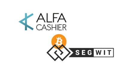 Bitcoin SegWit support enabled on crypto exchanger ALFAcashier