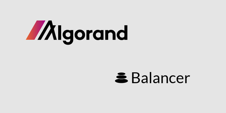 Balancer to enable programmable liquidity for the Algorand ecosystem