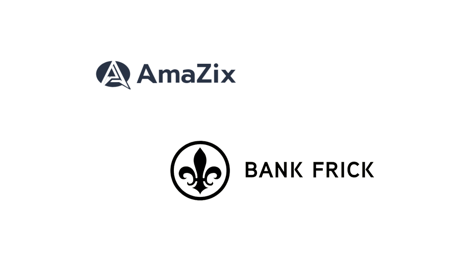 AmaZix partners with Liechtenstein blockchain banking expert Bank Frick