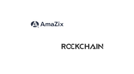 AmaZix and Rockchain partner to bring more transparency to crypto/smart contracts