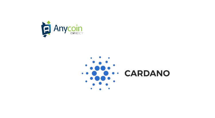 Cardano (ADA) listed on crypto exchange Anycoin Direct