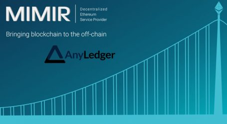 MIMIR Blockchain Solutions joins forces with IoT device company AnyLedger