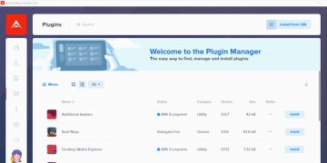 ARK blockchain launches plugin manager for its desktop wallet