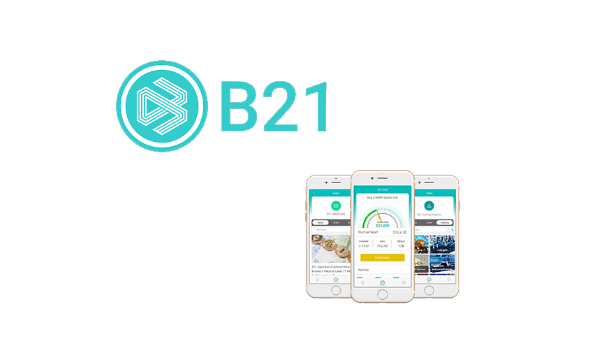 ​B21 launches mobile focused crypto asset investment platform