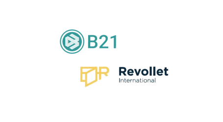 B21 to provide Revollet eWallet users access to its crypto investment products