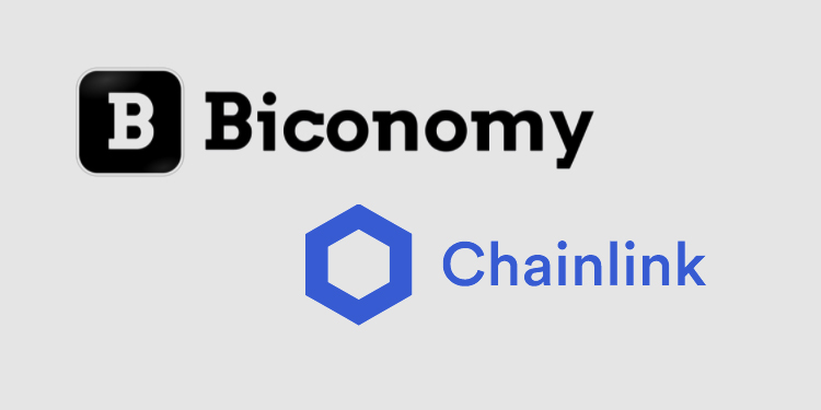 Biconomy integrates Chainlink to enable gas payments in different ERC-20 tokens