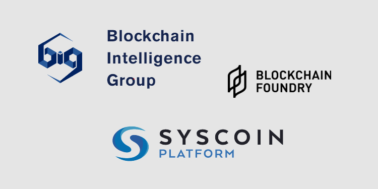 Blockchain risk platform provider BIG to develop compliance solution for Syscoin