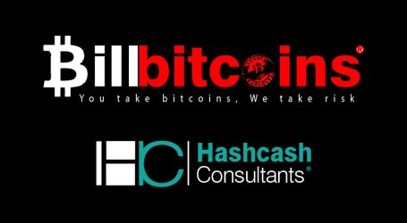 HashCash consultants launches Billbitcoins for crypto merchant payments