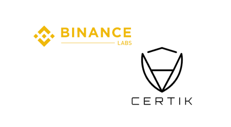 Binance Labs invests in secure smart contract and blockchain startup CertiK
