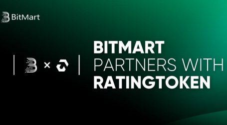 BitMart announces strategic partnership with RatingToken