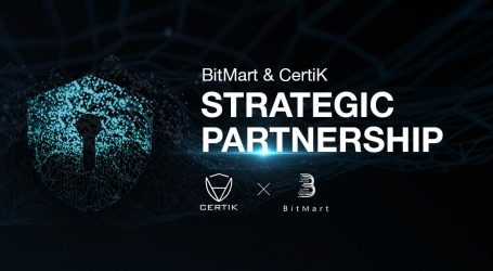 BitMart Announces Partnership with CertiK in Blockchain Security and Smart Contract Auditing