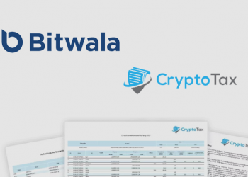 EU bitcoin bank app Bitwala integrates CryptoTax software