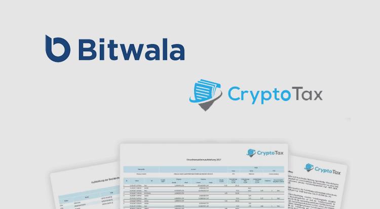 EU bitcoin bank app Bitwala integrates CryptoTax software