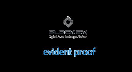 BlockEx to host token sale for Evident Proof on BlockExMarkets