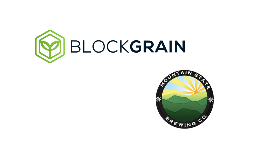 """BlockGrain and Mountain State Brewing to pilot """"barley to beer"""" blockchain tracking"""