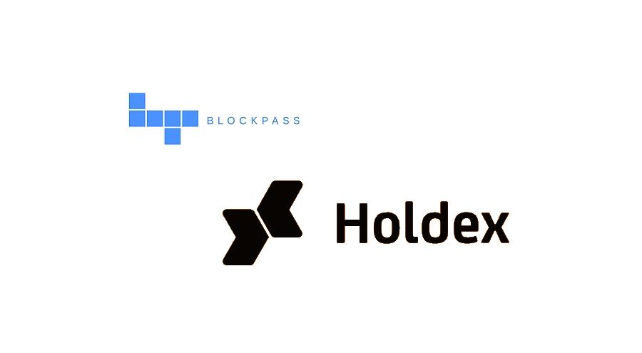 Holdex integrates Blockpass KYC app into ICO platform