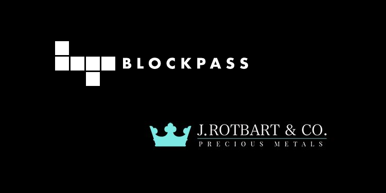 Blockpass partners with J. Rotbart & Co. to offer precious metal services for PASS Club members