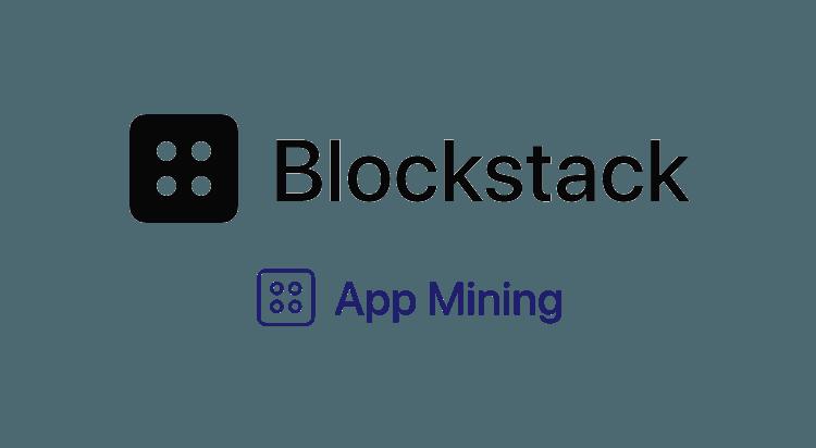 Blockstack Stacks App Mining