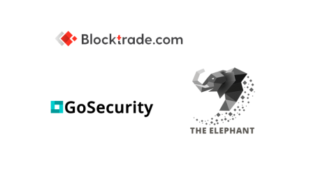 Blocktrade.com partners with The Elephant and GoSecurity for token listings