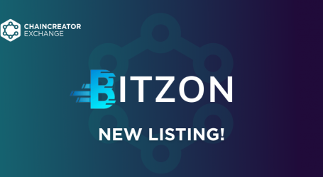 Bitzon to be listed on CHAINCREATOR Exchange