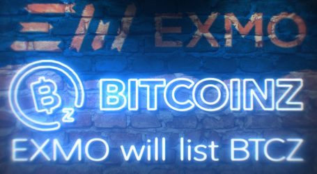 BTCz is listed on EXMO, top crypto exchange in Eastern Europe